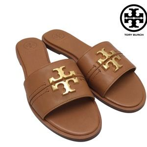 Tory Burch Everly Slide-Tan/Tan